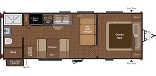 New 2015 Keystone Hideout 22RB Travel Trailer For Sale